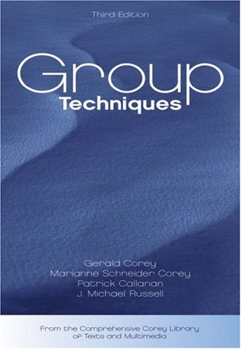 Group Techniques  3rd 2004 (Revised) 9780534612672 Front Cover