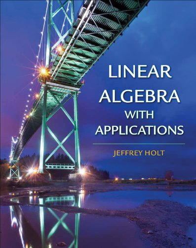 Linear Algebra with Applications   2013 edition cover