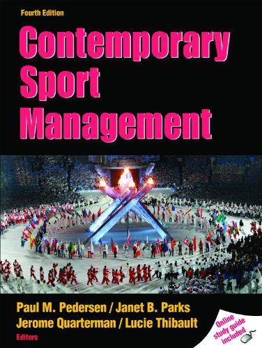 Contemporary Sport Management  4th 2011 (Guide (Pupil's)) 9780736081672 Front Cover