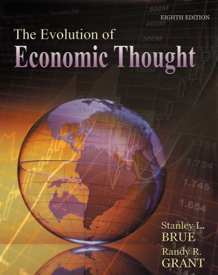 Evolution of Economic Thought  8th 2013 edition cover
