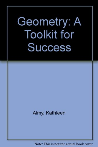 Geometry A Toolkit for Success 2nd 2013 9781269221672 Front Cover