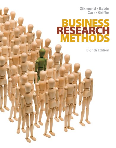 Business Research Methods (with Qualtrics Card)  8th 2010 edition cover