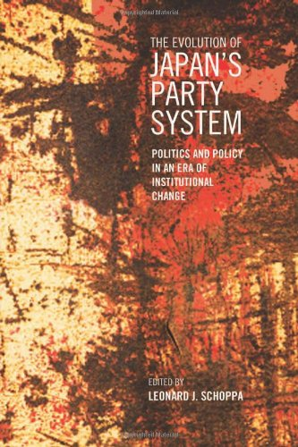 Evolution of Japan's Party System Politics and Policy in an Era of Institutional Change  2011 edition cover