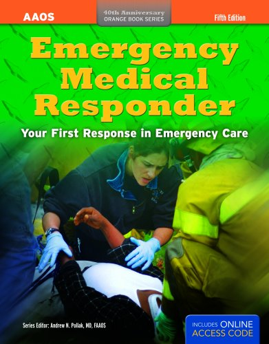 Emergency Medical Responder  5th 2011 edition cover