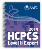 HCPCS LEVEL II EXPERT 2014              N/A edition cover