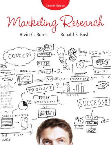 Marketing Research  7th 2014 edition cover