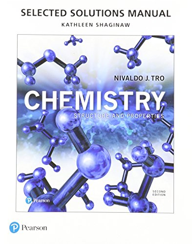 Chemistry: Structure and Properties  2017 9780134460673 Front Cover