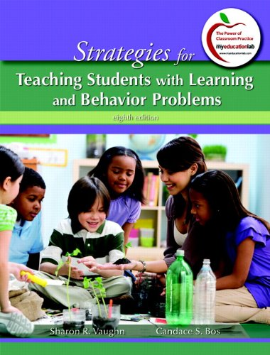 Strategies for Teaching Students with Learning and Behavior Problems  8th 2012 edition cover