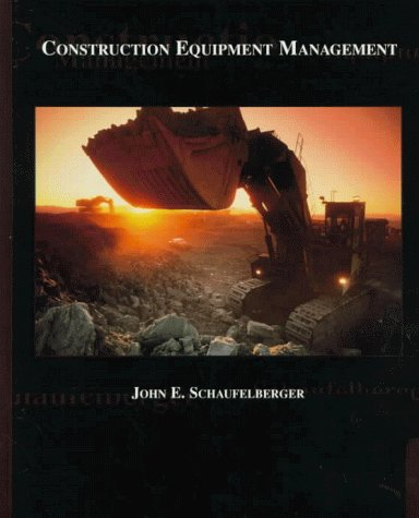 Construction Equipment Management   1999 9780137162673 Front Cover