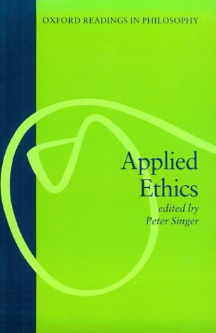 Applied Ethics   1986 edition cover