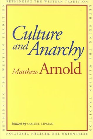 Culture and Anarchy   1994 (Reprint) 9780300058673 Front Cover