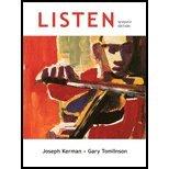 Listen  7th 2011 edition cover
