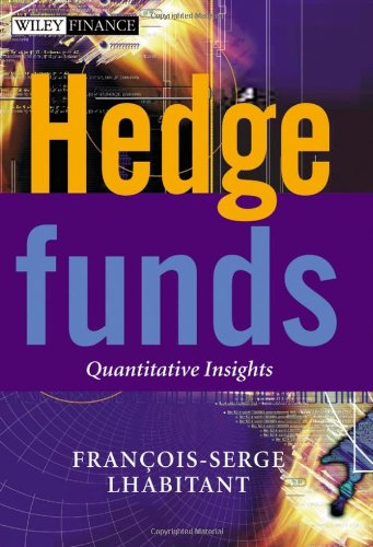 Hedge Funds Quantitative Insights  2004 edition cover