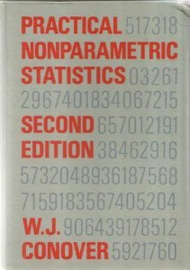 Practical Nonparametric Statistics  2nd 1980 edition cover