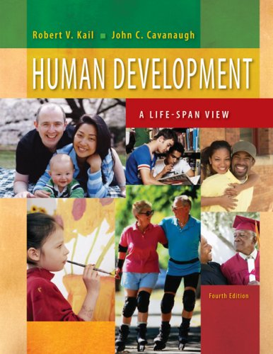 Human Development A Life-Span View 4th 2007 (Revised) 9780495130673 Front Cover