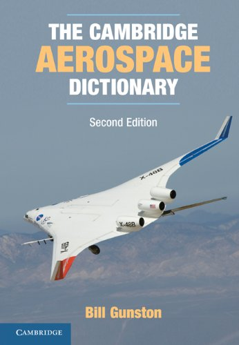 Cambridge Aerospace Dictionary  2nd 2011 (Revised) 9780521279673 Front Cover