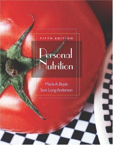 Personal Nutrition  5th 2004 (Revised) 9780534558673 Front Cover