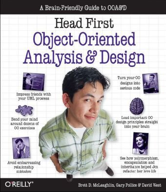Head First Object-Oriented Analysis and Design A Brain Friendly Guide to OOA&d  2006 9780596008673 Front Cover