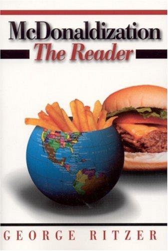 McDonaldization   2000 9780761987673 Front Cover
