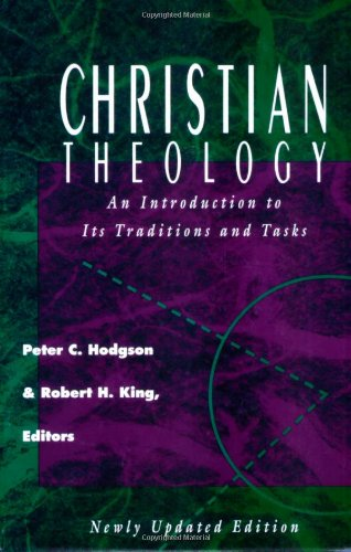 Christian Theology An Introduction to Its Traditions and Tasks  1994 edition cover