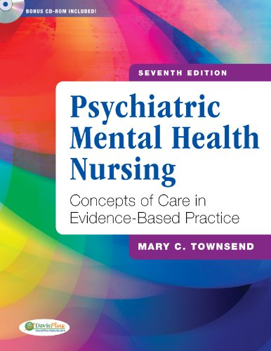 Psychiatric Mental Health Nursing Concepts of Care in Evidence-Based Practice 7th 2012 (Revised) edition cover