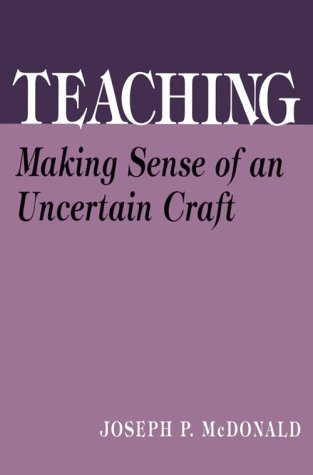 Teaching Making Sense of an Uncertain Craft  1992 edition cover