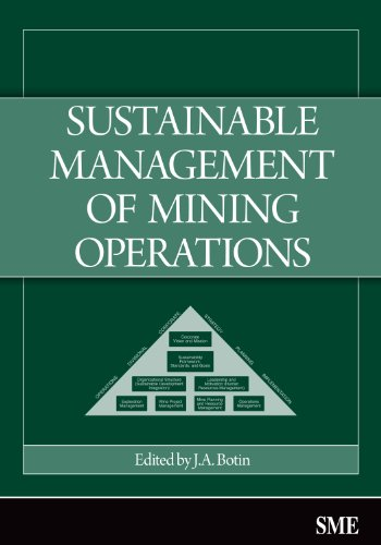Sustainable Management of Mining Operations   2009 edition cover