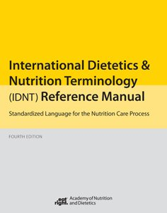 INTL.DIETETICS+NUTRITION TERM. N/A edition cover