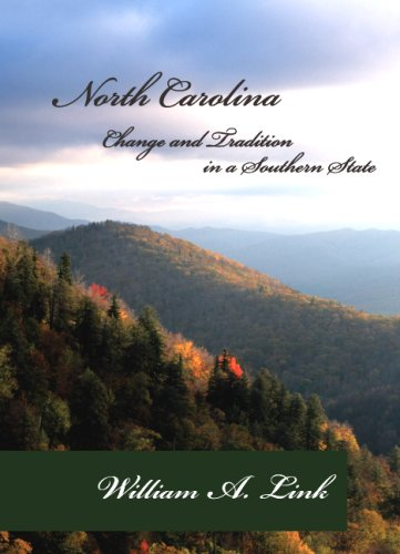 North Carolina Change and Tradition in a Southern State  2009 edition cover