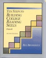 Ten Steps to Building College Reading Skills, Form B 2nd 1994 9780944210673 Front Cover