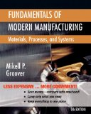 Fundamentals of Modern Manufacturing Materials, Processes, and Systems 5th 2013 edition cover
