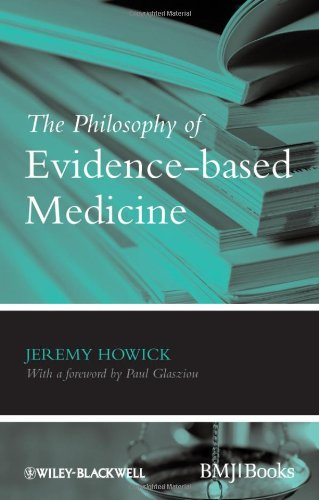 Philosophy of Evidence-Based Medicine   2011 9781405196673 Front Cover