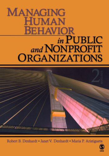 Managing Human Behavior in Public and Nonprofit Organizations  2nd 2009 edition cover