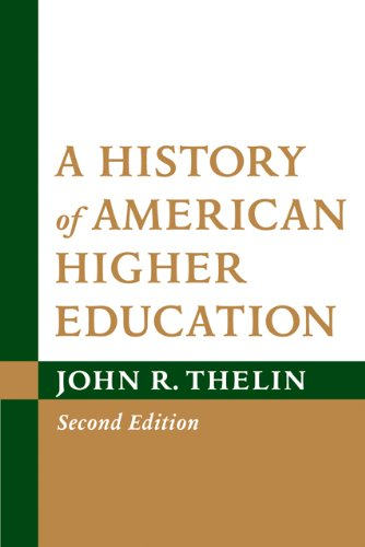 History of American Higher Education  2nd 2011 edition cover