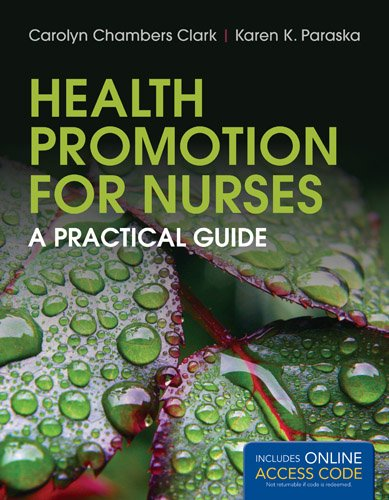 Health Promotion for Nurses   2014 edition cover