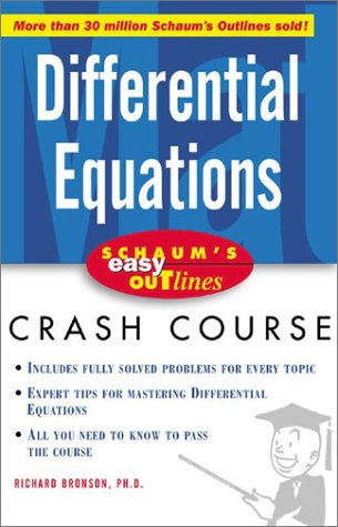 Differential Equations   2003 9780071409674 Front Cover