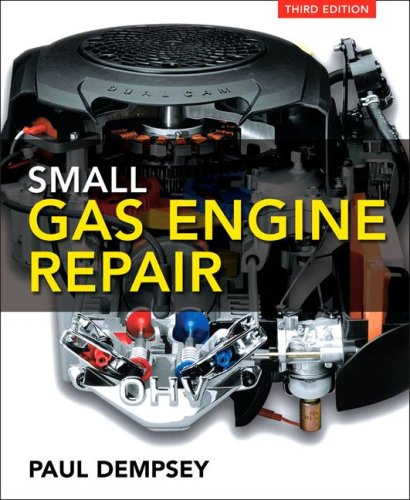 Small Gas Engine Repair  3rd 2008 edition cover