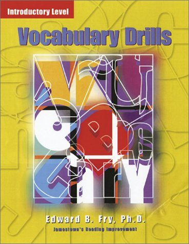 Vocabulary Drills, Introductory Level Jamestown's Reading Improvement  2003 9780078273674 Front Cover