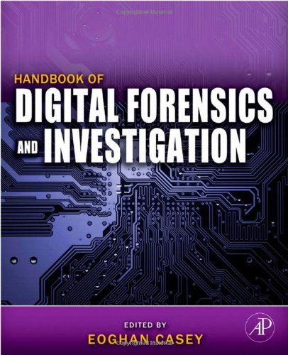 Handbook of Digital Forensics and Investigation   2009 edition cover