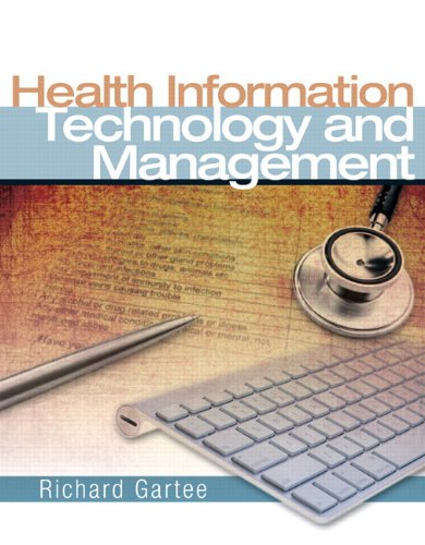 Health Information Technology and Management   2011 edition cover