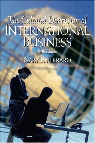 Cultural Dimension of International Business  5th 2006 (Revised) edition cover