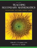Teaching Secondary Mathematics Techniques and Enrichment Units 9th 2015 edition cover