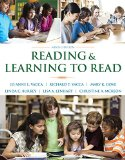 Reading and Learning to Read Access Code:  9th 2014 edition cover