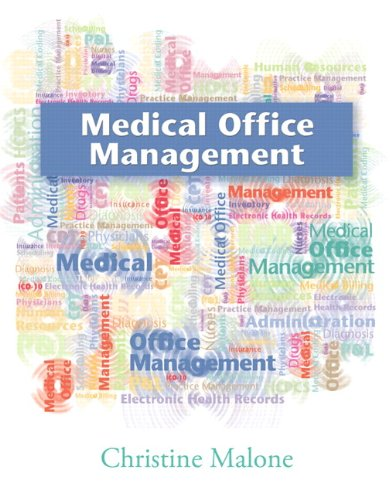 Medical Office Management   2013 edition cover
