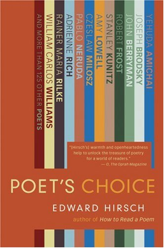 Poet's Choice   2007 9780156032674 Front Cover
