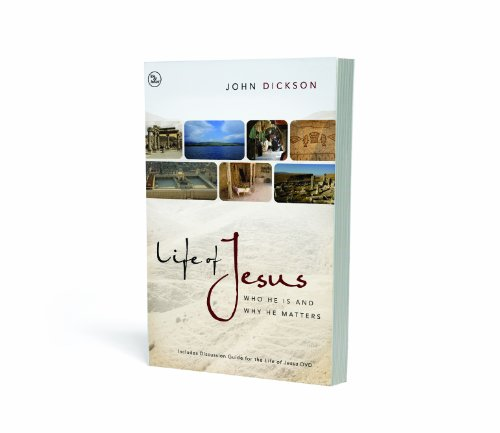 Life of Jesus Who He Is and Why He Matters  2010 edition cover