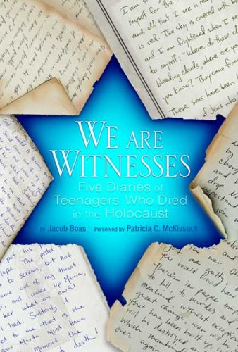 We Are Witnesses Five Diaries of Teenagers Who Died in the Holocaust N/A edition cover