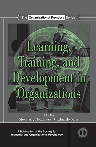 Learning, Training, and Development in Organizations:   2012 edition cover