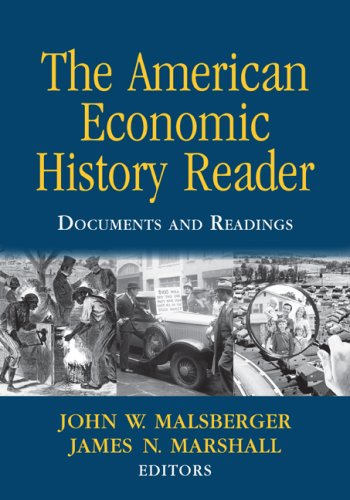 American Economic History Reader Documents and Readings  2008 edition cover