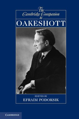 Cambridge Companion to Oakeshott   2012 9780521764674 Front Cover